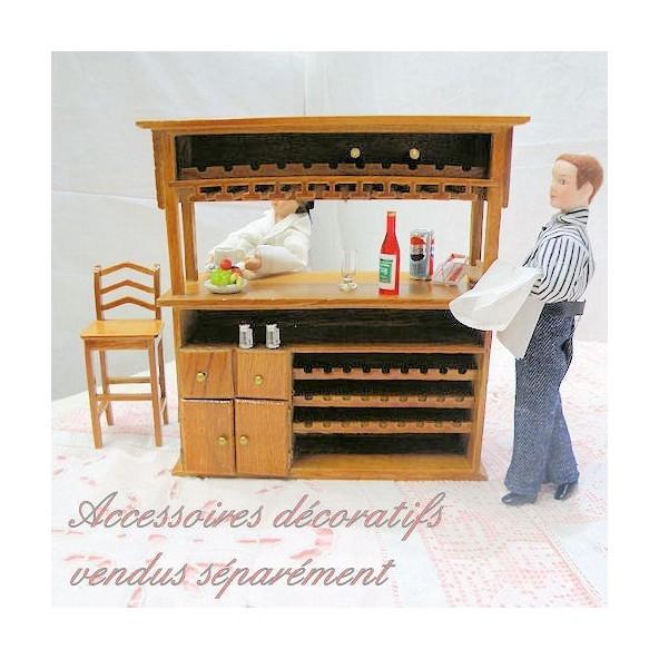 "1 1//8/"" Tall Swivels Miniature Petite Vanity Mirror DOLLHOUSE 1:12 Scale"