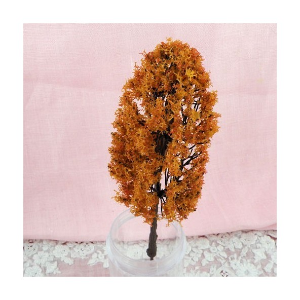 Arbre automne miniature jardin maison poupée 13 cm,