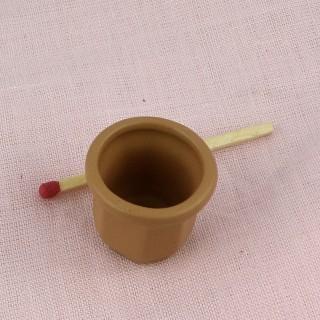 Topf Blumen Miniatur Haus Puppe