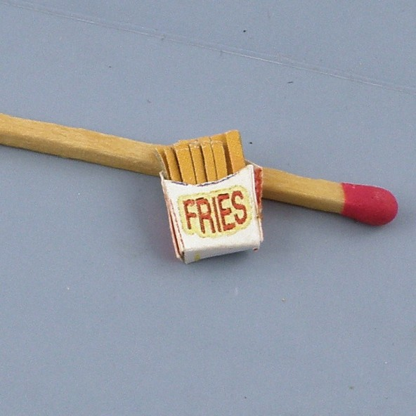 Miniature French fry horn house headstock