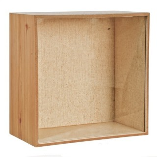 Box limp for shop window 21 cm