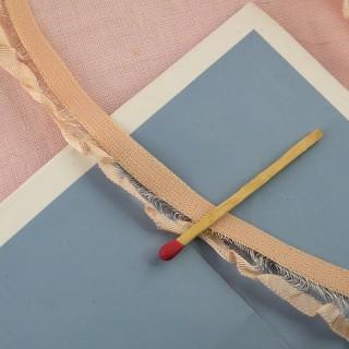 Borde cinta plissado 16 mms