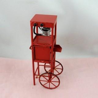 Carro miniatura venta ambulante confitería