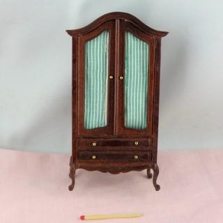 Armoire miniature meuble maison poupée