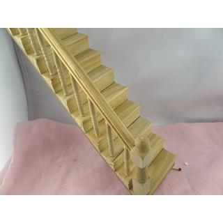 Escalier miniature maison de poupée