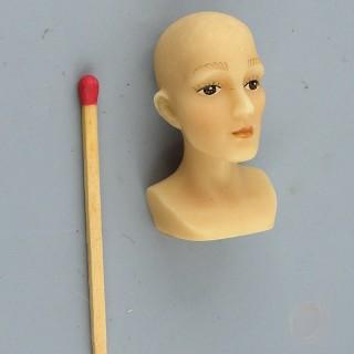Présentoir buste pour Chapeau miniature maison poupée