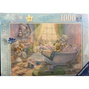 Puzzle Ravensburger 1000 pièces Nounours au bain