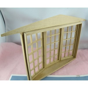 Miniature front shop doll's house.