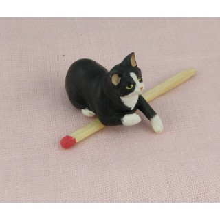 Reesin Cat miniature 3 cms,