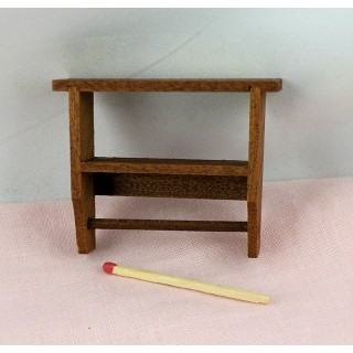 Kitchen wall shelf miniature doll house,