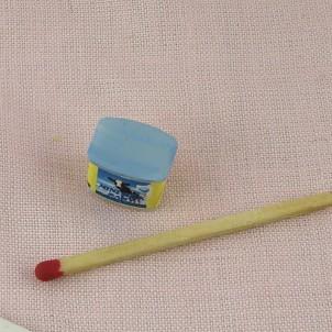 Cojea de chocolate en polvo miniatura 1/12ème