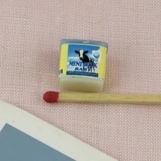 miniature chocolate powder box 1/12ème