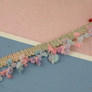 Knitted braid Chanel style 2 cms