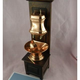 Fontaine en cuivre 30 cm pour poupée