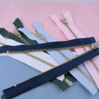 Separating Tiny zipper for doll, small 10 cms