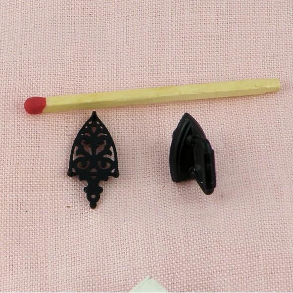 Fer àrepasser rétro miniature 1/12 12 mm