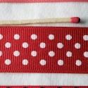 Gros-grain ruban à pois 25 mm