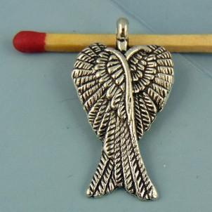 Breloque aile ange miniature 3 cm
