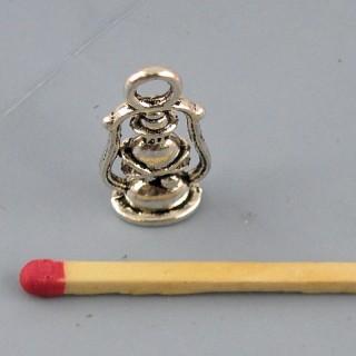 Dije Lámpara vocifera miniatura metal 2 cm