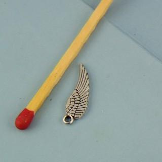 Breloque aile ange miniature 17 mm