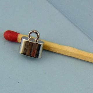 Anhänger Miniaturschloß 2 cm