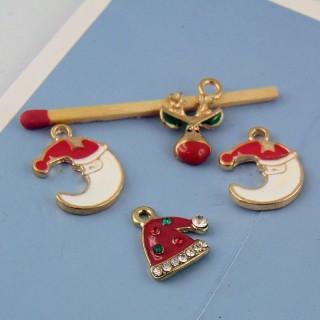 lote de Dijes esmaltados Noël