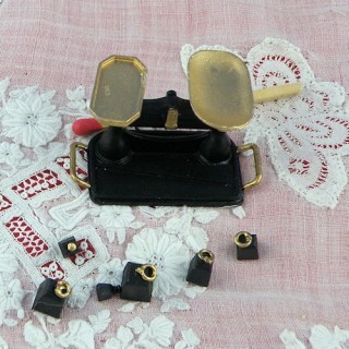 Balance miniature magasin poupée 1/12 eme