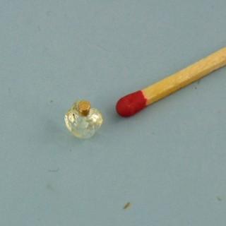 Vaporisateur flacon parfum miniature poupée 1 cm