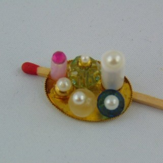 Ensemble flacons parfum miniature 1/12