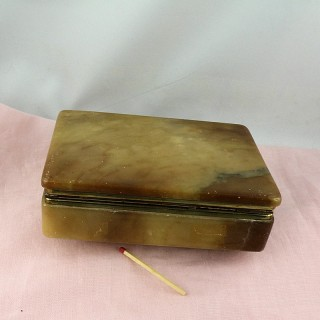 Miniature inkstand old for child or headstock 21 cm