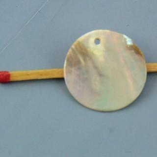 Plättchen aus Perlmutt 2 cm