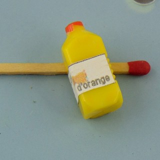 Kanne kleine Orangensaft Haus Puppe 25 mm