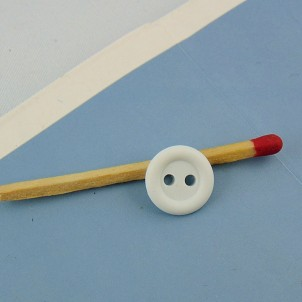 Bouton plastique à bord 11 mm