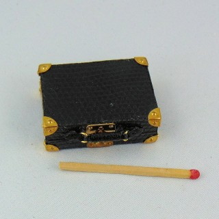 Miniature suitcase house doll 1/12