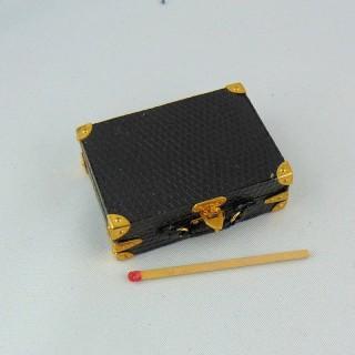 Valise miniature maison poupée 1/12 Heidi Ott 5 cm