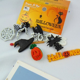 Knöpfe Halloween Skelett Dress IT up,