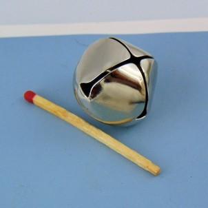 Grelot mini clochette poupée 24 mm.