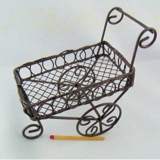 Carrito carretilla compras miniatura
