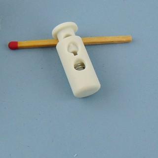 Verschluss Blockieren Puppenschnürsenkel 3 cm.