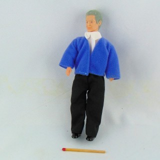 Muñeca miniatura 1/12 hombre viejo abuelo