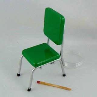 Chaise moderne 1950 meuble miniature maison de poupée