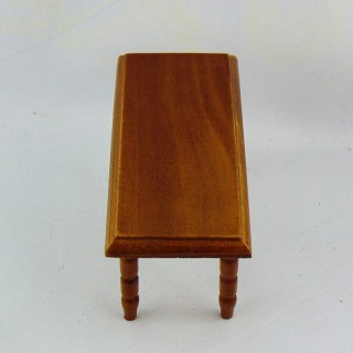 Miniature doll house living room table 1/12