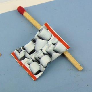 Säckchen chamallow Miniatur Puppenhaus 2 cm