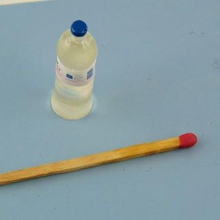 Botella agua miniatura casa muñeca 3 cm