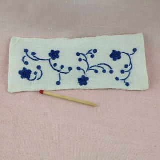 Embroidered miniature cover bed