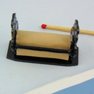 Winde Papier Miniaturtoilette Puppe,