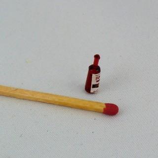 Frasco de salsa Tabasco miniatura 12 mm