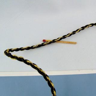 Galón redondo cordón pasamanería cordón.
