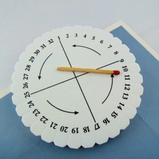 Kumihimo braiding plate & rattail