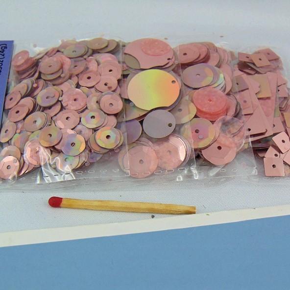 Sachet de sequins métallisés en mélange 25 g
